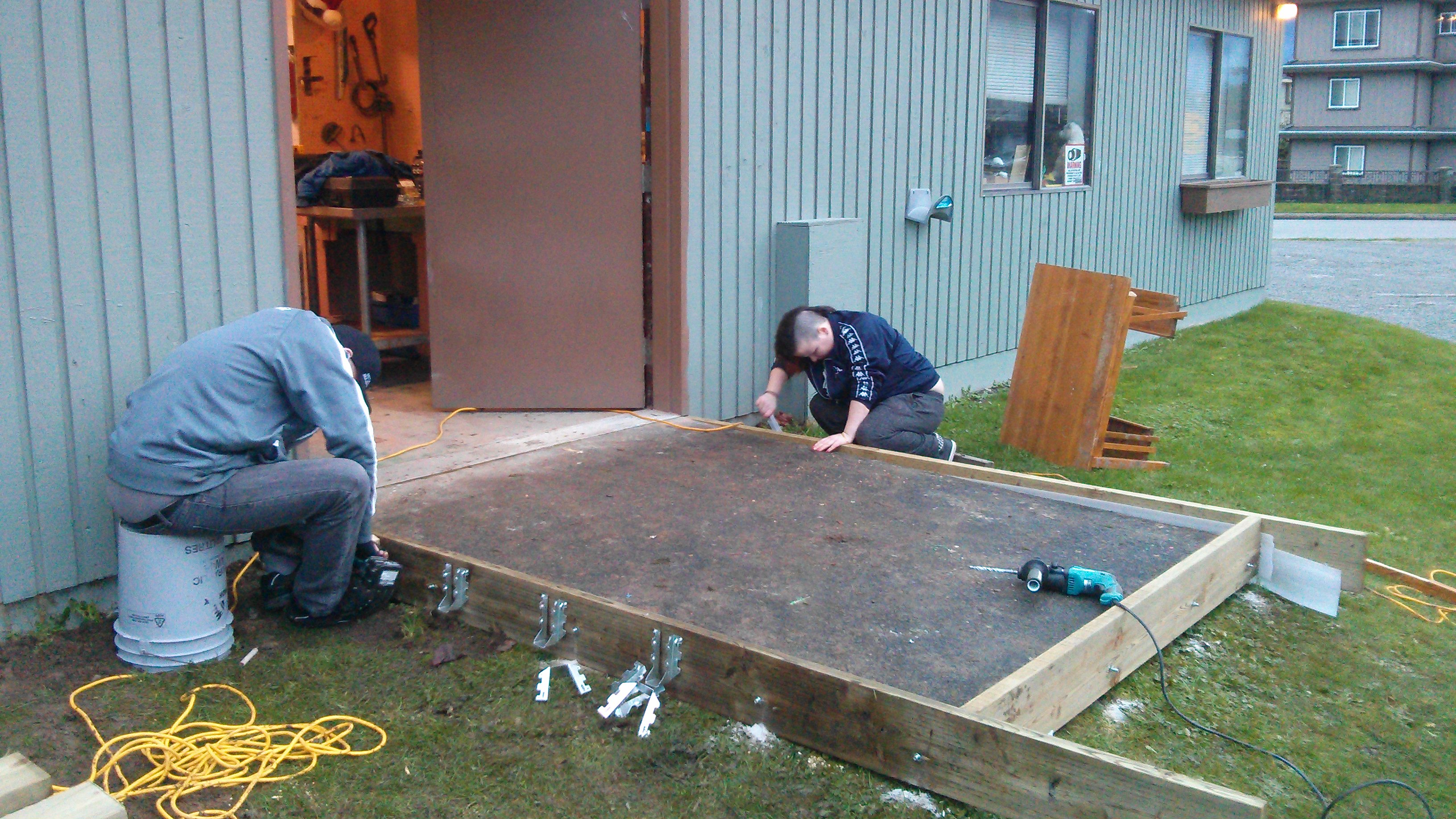 Shed Construction 1