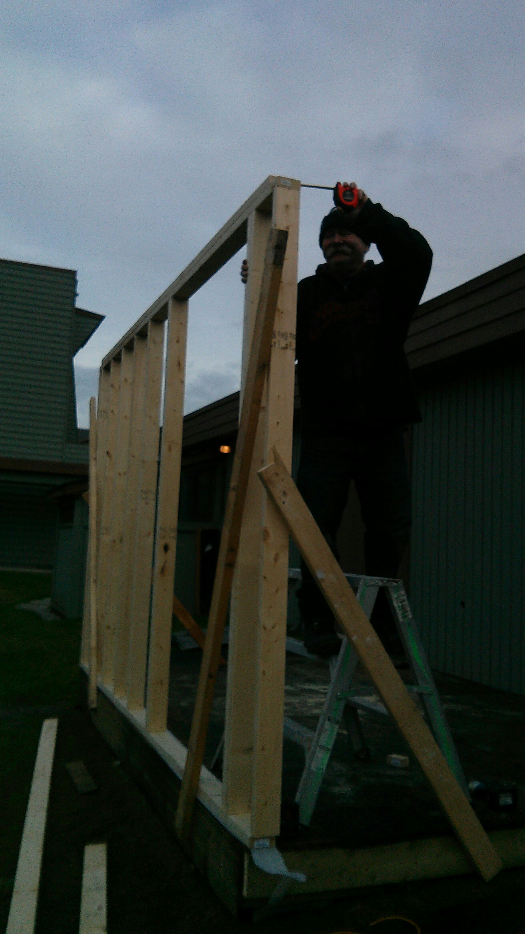 Shed Construction 5